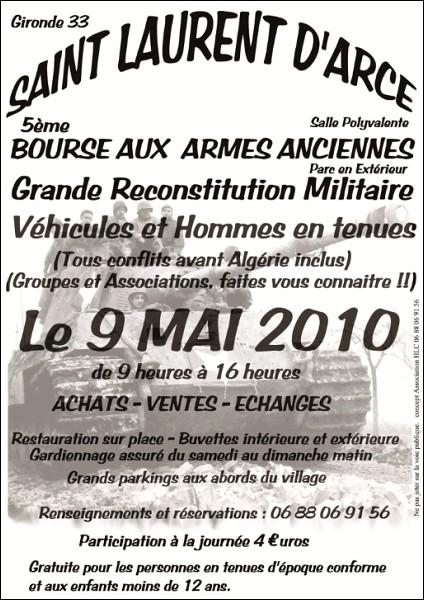 Bourse Militaria  (33) St Laurent d'arce 9 mai 2010 Stlau110