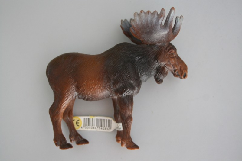 My Recent Schleich Retired Figures Moose_15