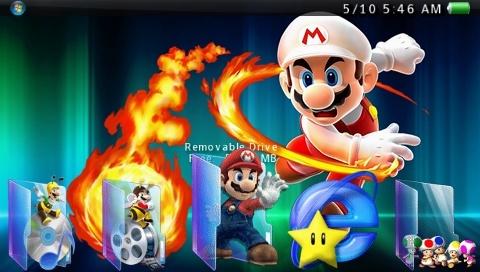 Super Mario Vista CTF Theme Vista_10