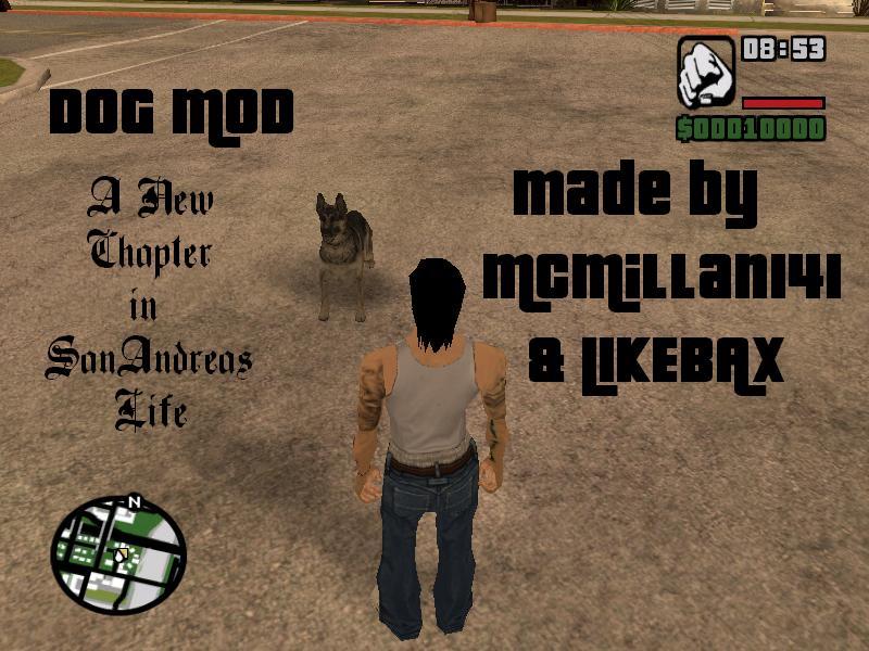 Dog CLEO Mod Dog_mo10