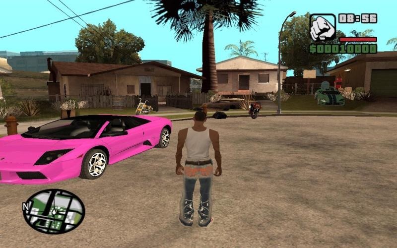 My CLEO Mod with Grove Street Cars Gta_sa12