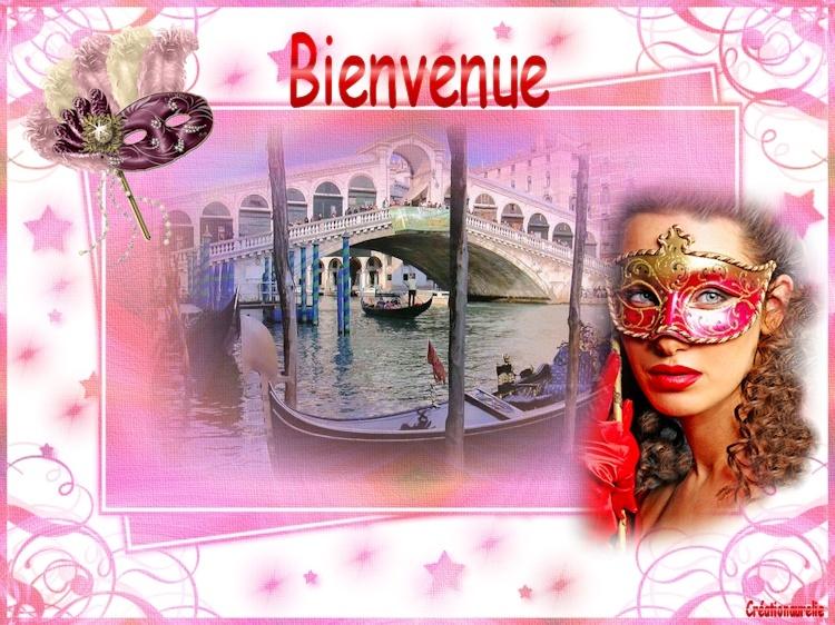 La dame  Masquer de carnaval Bannie11