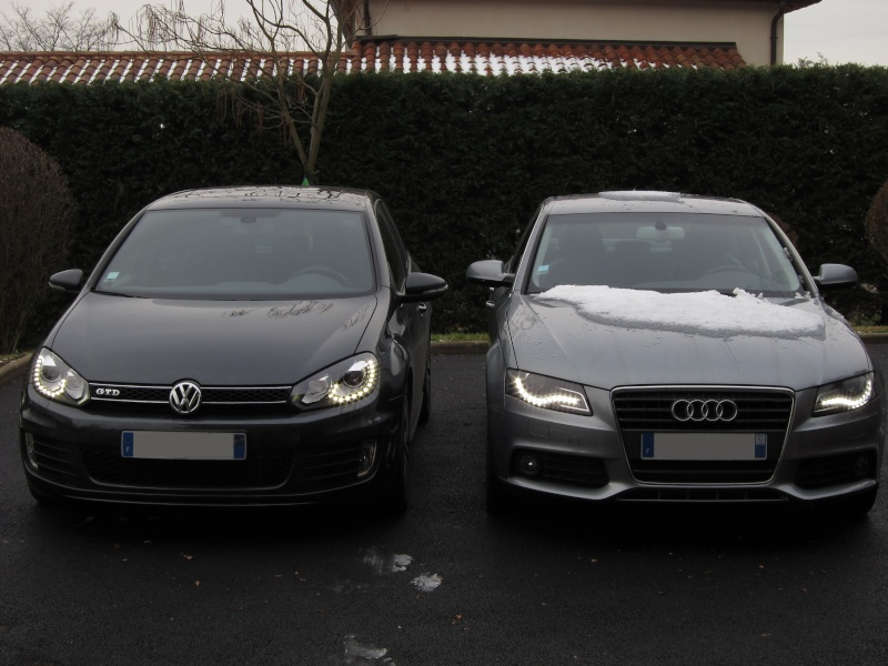 Feux avant à LED : le match Golf GTD vs Audi A4 Img_0027