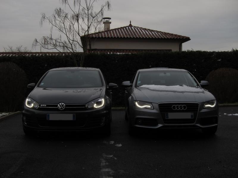 Feux avant à LED : le match Golf GTD vs Audi A4 Img_0028