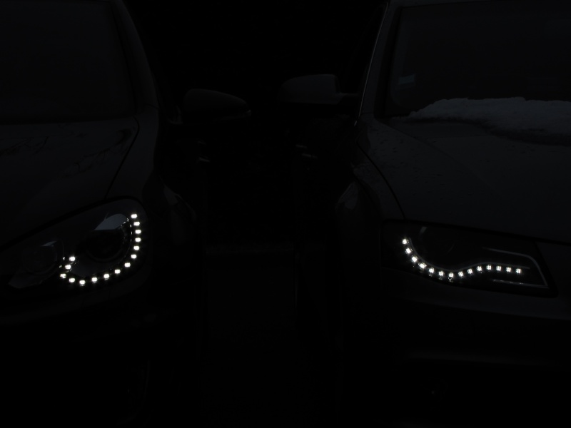 Feux avant à LED : le match Golf GTD vs Audi A4 Img_0029