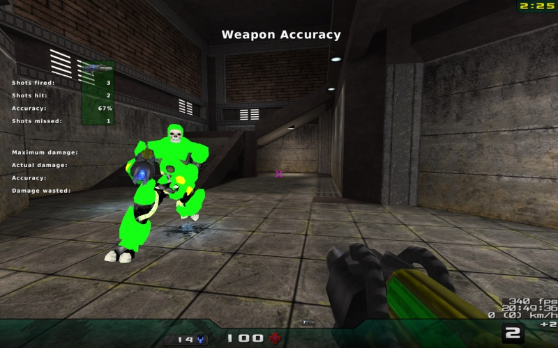 Weapon Accuracy Nexuiz21
