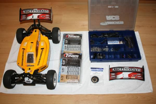 Mon projet Buggy 1/8 Asso RC8BE Rc8be-11