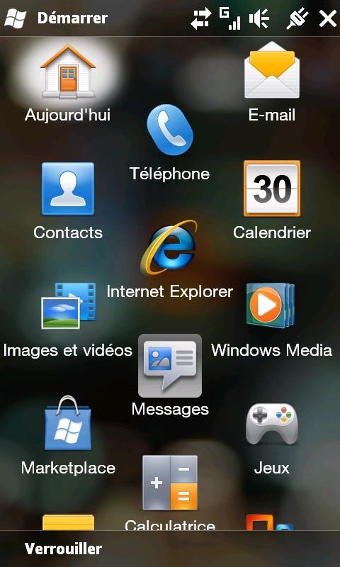 [ROM WM6.5] [FR] BILOU69 V UNSENSE - BASE 1.66.406.1 officielle allégée sans sense [29.05.2010] Screen11
