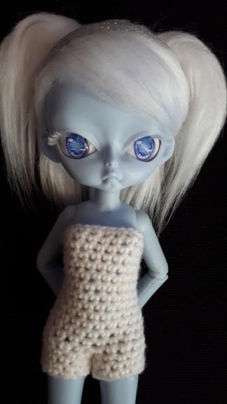 [VDS] Hujoo blue - white - apricot - cocoa - chocolate skin 20190739