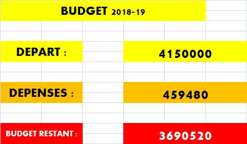 Celtic Standard 2018-19 Budget12