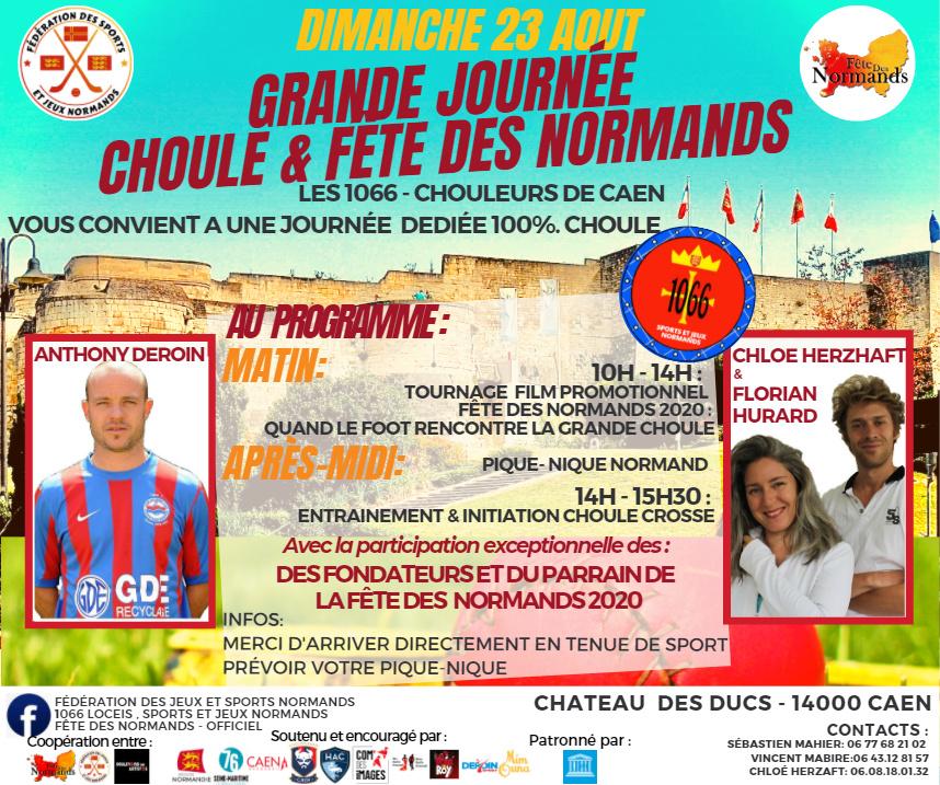 Choule et fête des Normands au château de Caen 23/08/2020 11818410