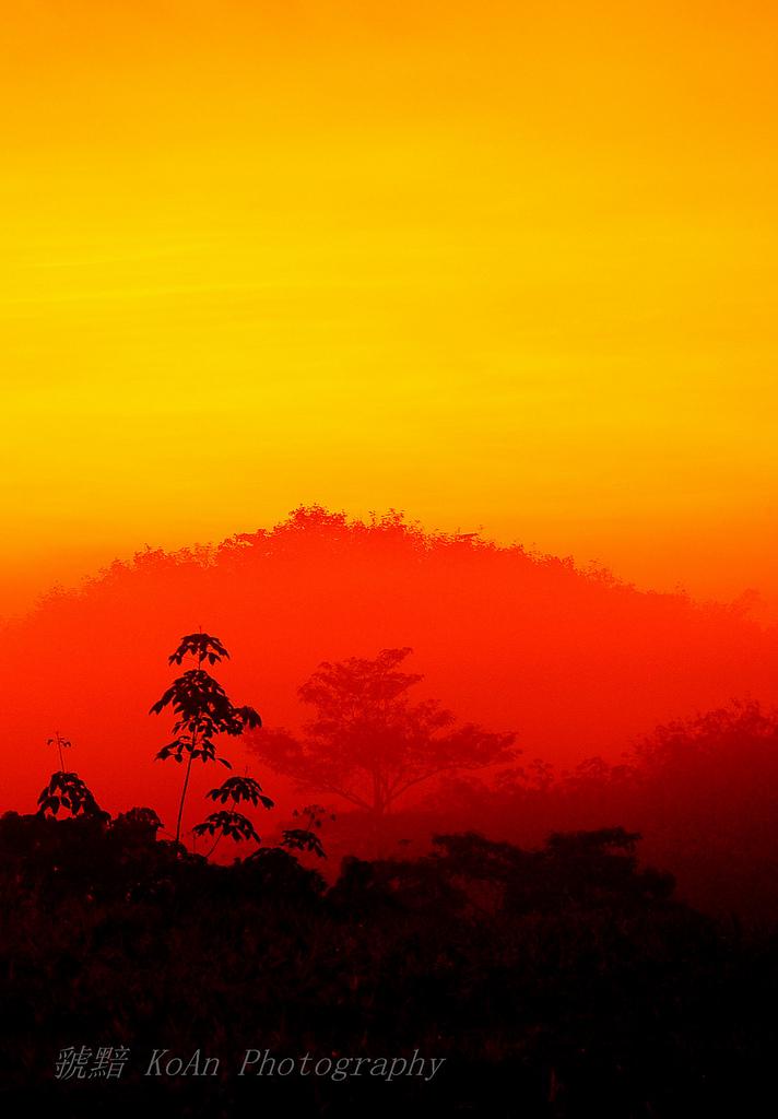 Burning sky 46234910