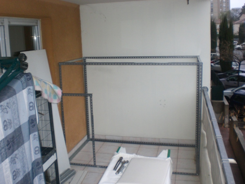 Projet voliere sur balcon Cimg0119