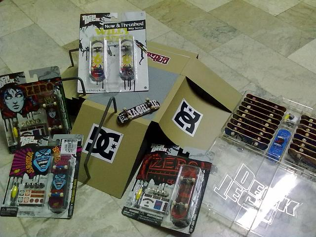 200php worth Tech Deck Skate Park 12192011