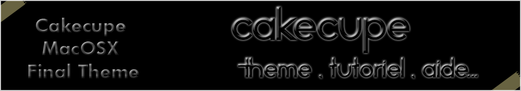 Cakecupe 4.0 : Special Apple