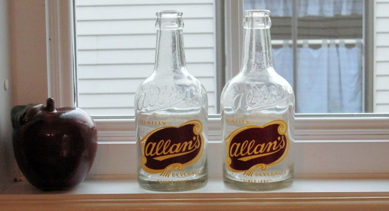 Bouteilles Allan's Allan10