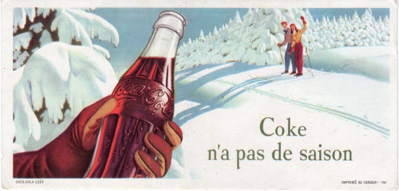 2 buvards Coke (1947) Cokebu10