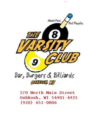 The Varisty club.  Pool hall bar and grill Photo111