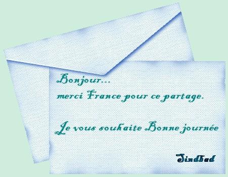 Cartes et leurs enveloppes Bonjou10