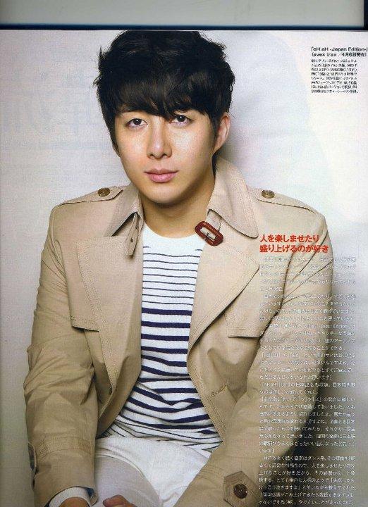 [photos] Hyung Jun – Ray Magazine May Issue Cut Br110