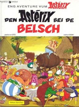 Les Astérix en luxembourgeois Besch10