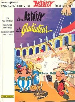 Les Astérix en luxembourgeois Gladia10