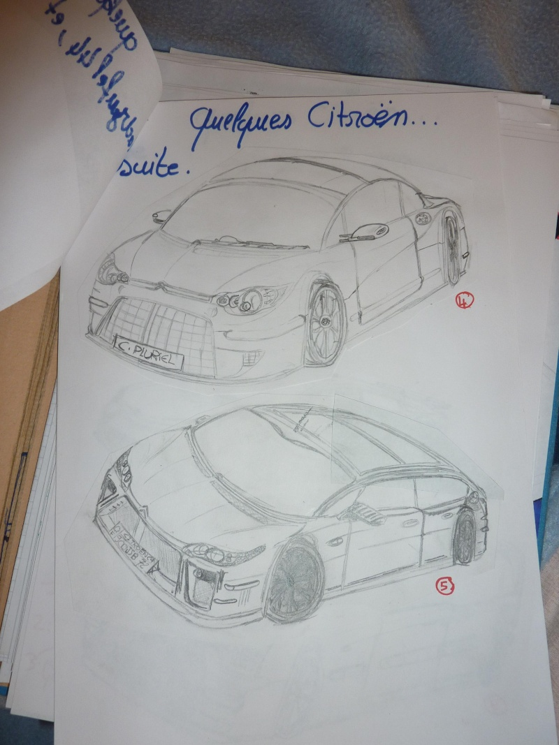 le sport auto  et l'art - Page 6 Dessin11