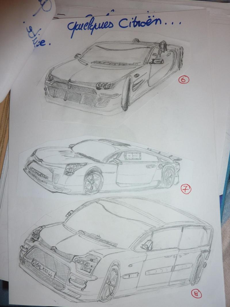 le sport auto  et l'art - Page 6 Dessin12