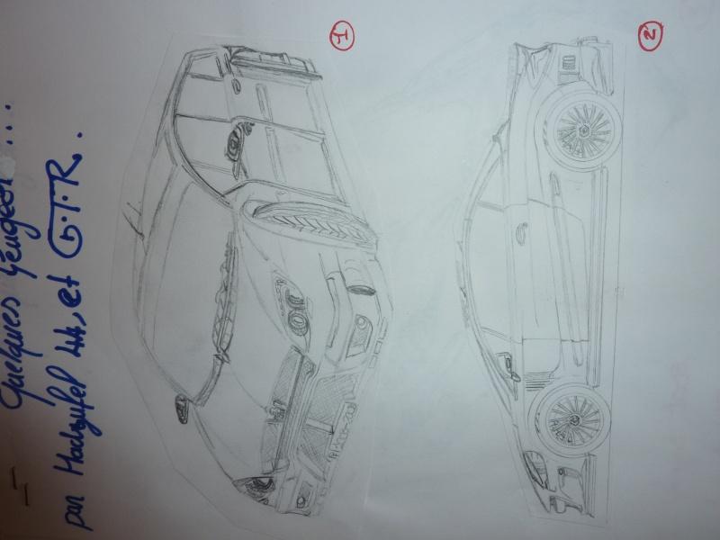 le sport auto  et l'art - Page 6 Dessin13