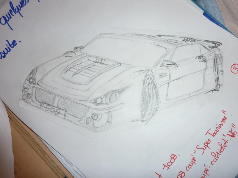 le sport auto  et l'art - Page 6 Dessin14