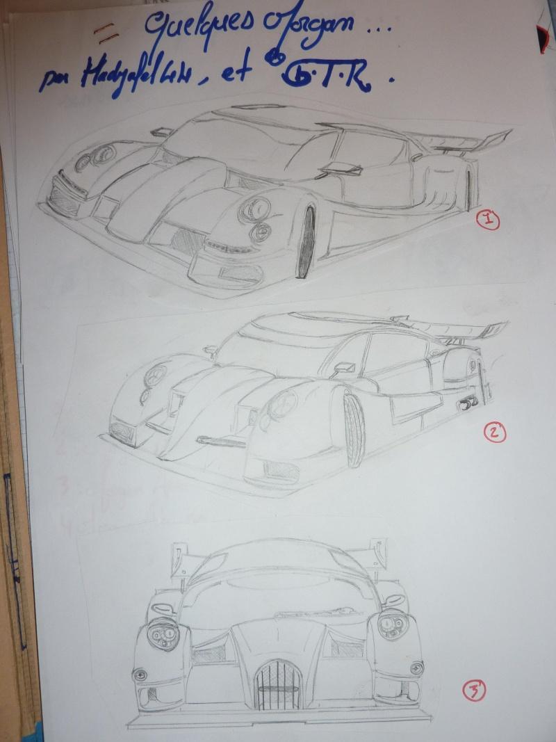 le sport auto  et l'art - Page 6 Dessin15