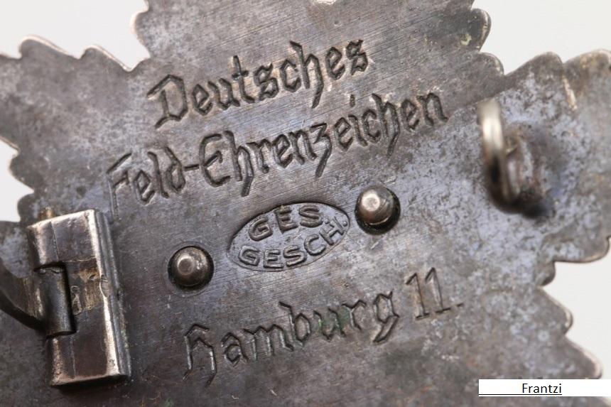 Deutsche Feld-Ehrenzeichen.  Hh1110