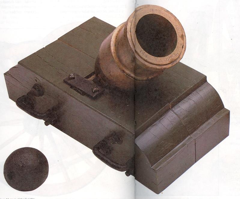 Caronade et mortier (projet de construction) Coehor10