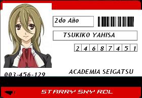 ☆♦•/♦○Ficha de Tsukiko Yahisa☆♦•/♦○ Stukik10