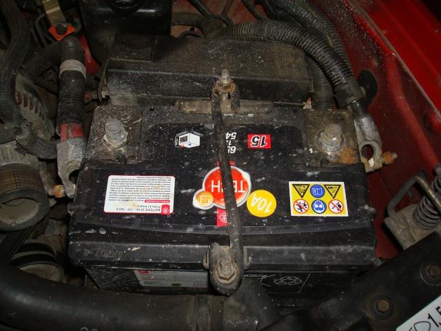 (TUTO) dépose turbo + démarreur sur XJ 2.5L TD Dsc03117