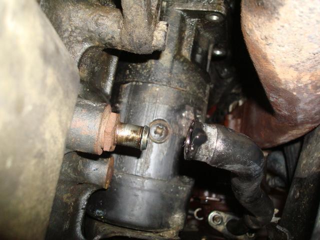 (TUTO) dépose turbo + démarreur sur XJ 2.5L TD Dsc03120