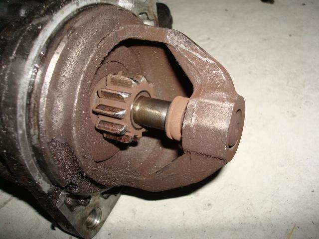 (TUTO) dépose turbo + démarreur sur XJ 2.5L TD Dsc03130