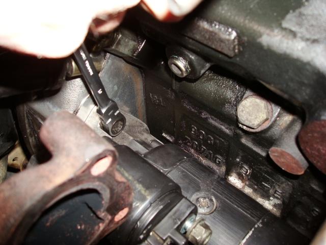 (TUTO) dépose turbo + démarreur sur XJ 2.5L TD Dsc03216