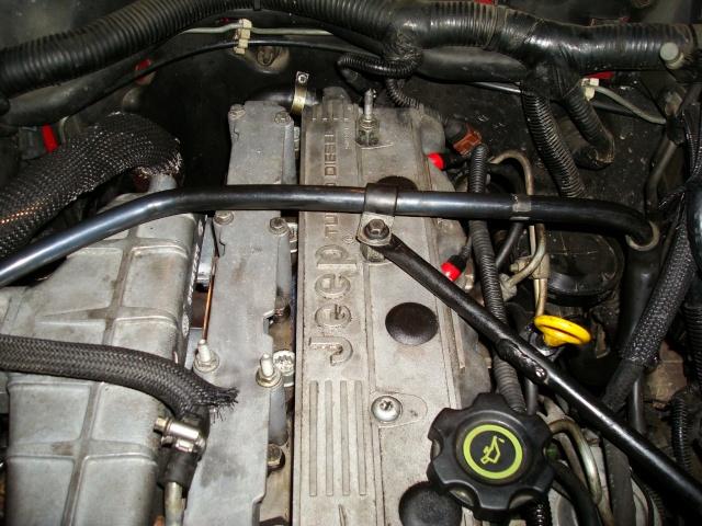 (TUTO) dépose turbo + démarreur sur XJ 2.5L TD Dsc03315