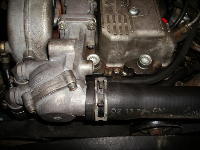 (TUTO) dépose turbo + démarreur sur XJ 2.5L TD Dsc03316