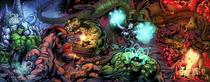 Incredible Hulk #630-635 [Cover] 63658410