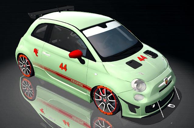 MOD FIAT 500 ABARTH CUP Coche411
