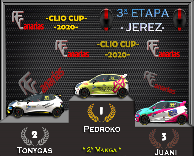 3ª ETAPA CLIO CUP JEREZ (SPAIN) Manga210