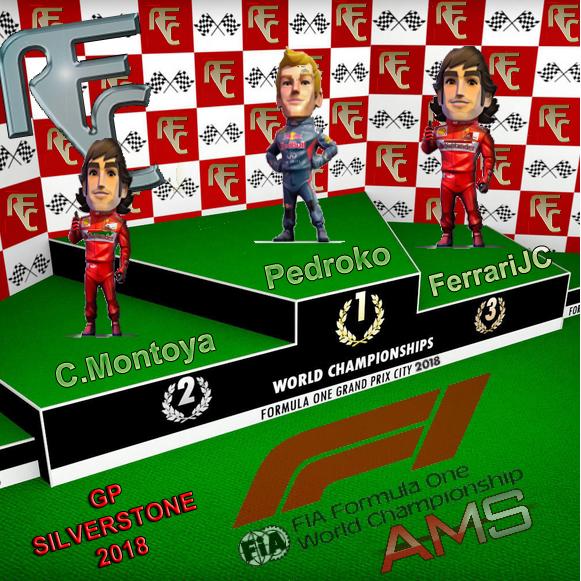 GP SILVERSTONE F1 2018 Podium14