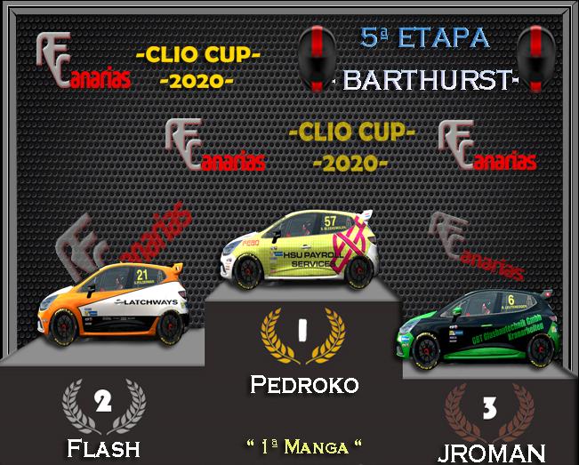 5ª ETAPA CLIO CUP BARTHURST Podium15