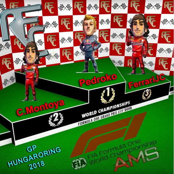 GP F1 HUNGARORING Podium16