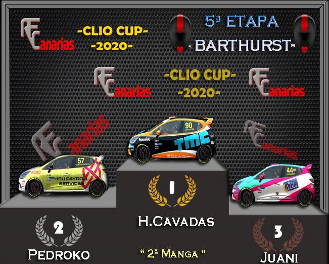 5ª ETAPA CLIO CUP BARTHURST Podium16