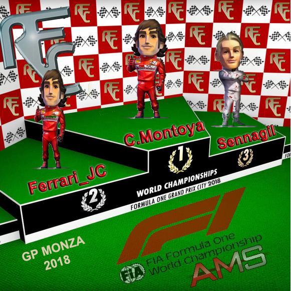 GP F1 MONZA 2018 Podium18
