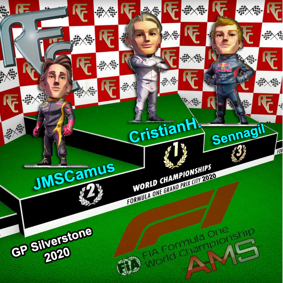 GP F1 SILVERSTONE Podium18