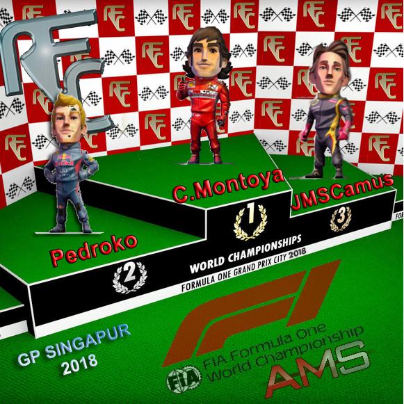 GP F1 SINGAPUR 2018 Podium20